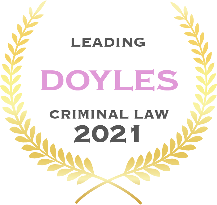 Leading Doyles criminal law 2021 - Fisher Dore Lawyers