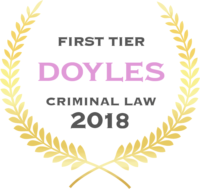 Doyles Criminal Law Award