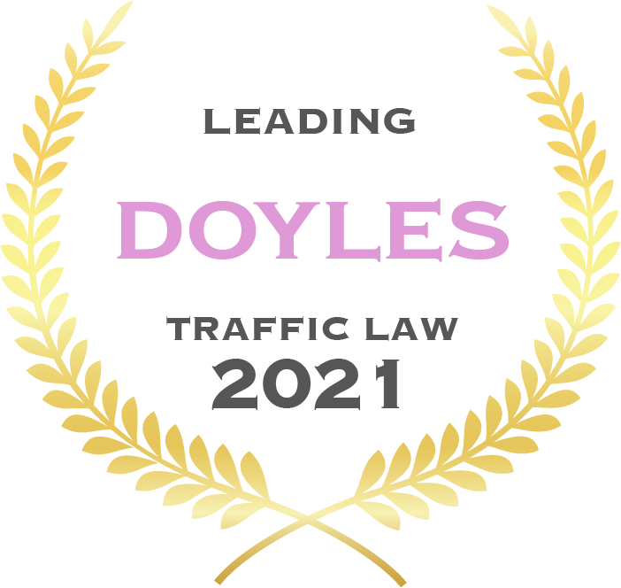 Leading Doyles traffic law 2021 - Fisher Dore Lawyers