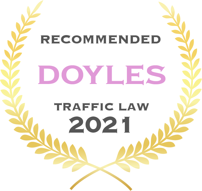 Recommended Doyles traffic law 2021 - Fisher Dore Lawyers