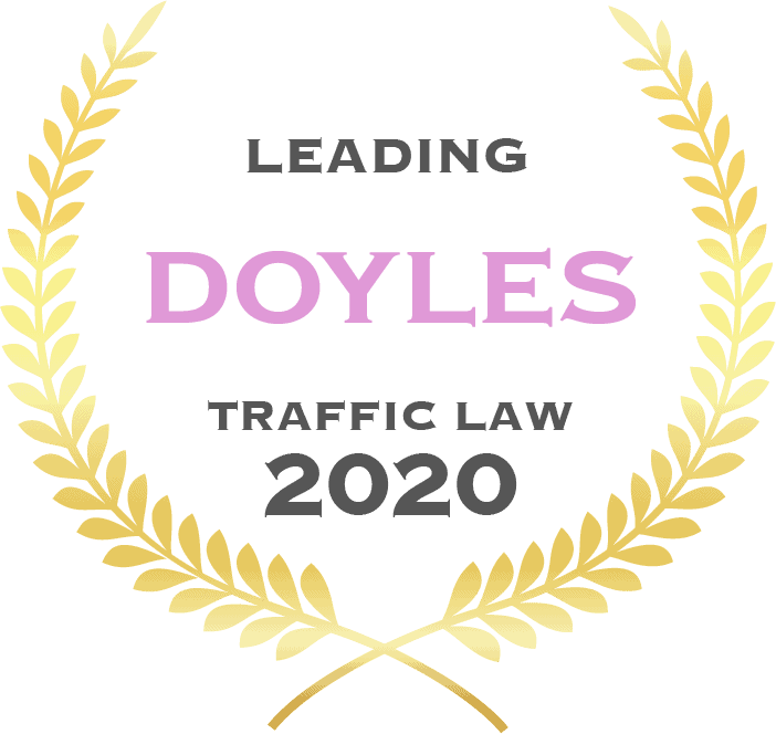 Leading Doyles traffic law 2020 - Fisher Dore Lawyers