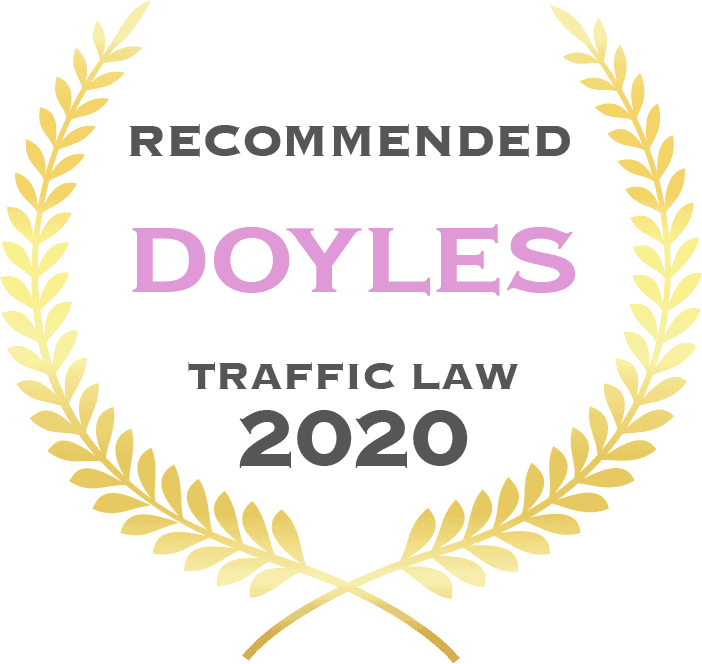 Recommended Doyles traffic law 2020 - Fisher Dore Lawyers