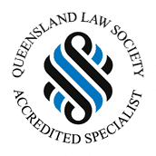 Accredited Specialist Queensland Law Society logo - Fisher Dore Lawyer